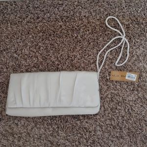 La Regale Silver Evening Bag
